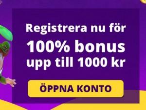 Hämta dina 1000 kr bonuspengar nu hos Yako Casino!