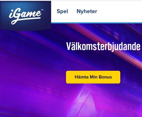 Spela upp till 98% RTP nu på iGame Casino!