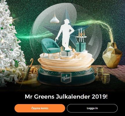 Nu är Mr Greens Julkalender 2019 här!